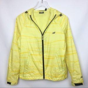 New Balance | Yellow Windbreaker Jacket Small
